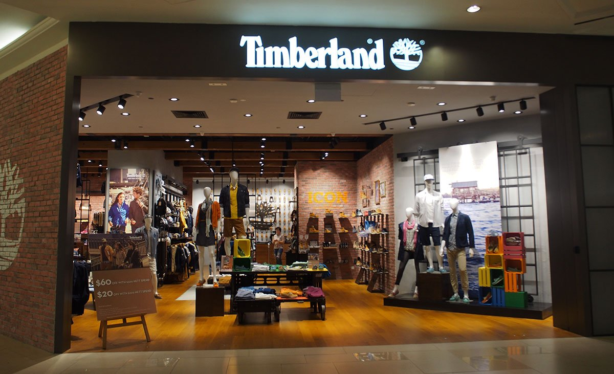 Timberland® – Raffles City Shopping Centre